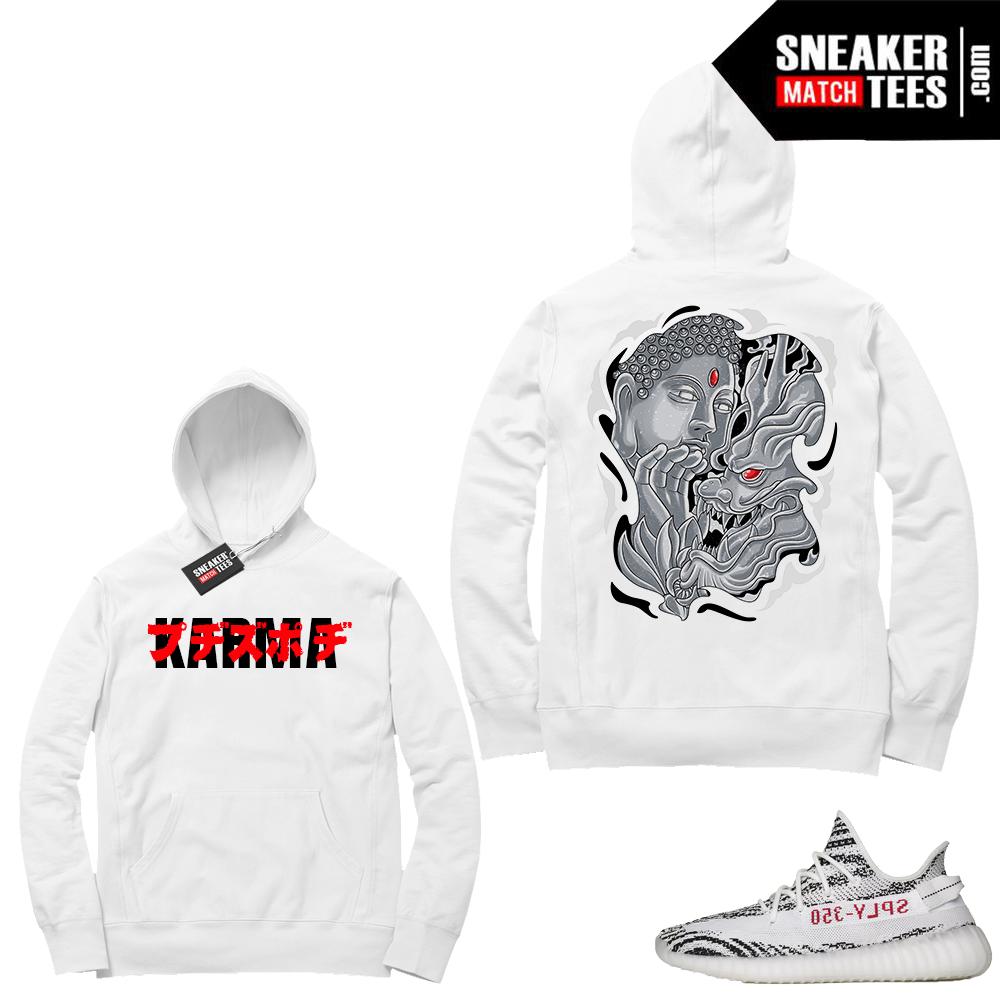 Yeezy Zebras Karma Hoodie
