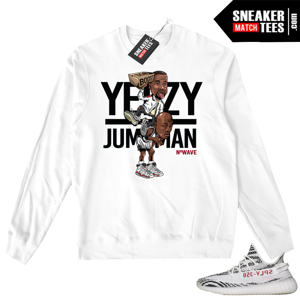 Yeezy Zebras matching Sweater