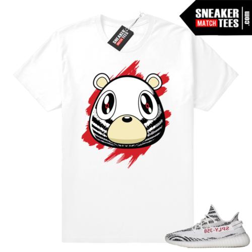 Zebra Yeezy Boost Bear t-shirt