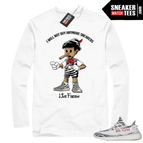 Zebra Yeezy Boost Sneaker Match