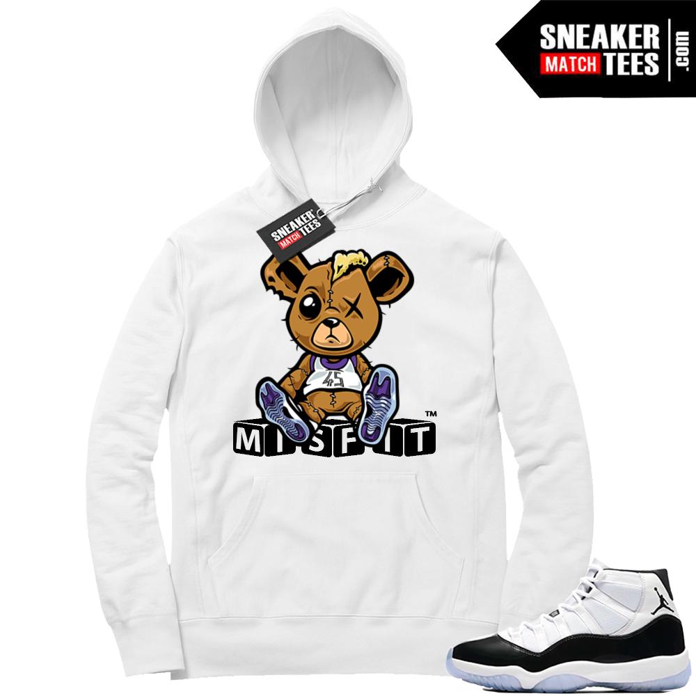 Air Jordan 11 Concord Misfit Teddy Hoodie