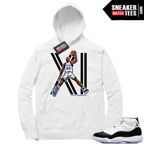 Air Jordan 11 Dunk 45 Hoodie