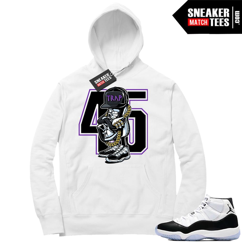 Air Jordan Concord 11 Hoodie Trap Sneakerhead