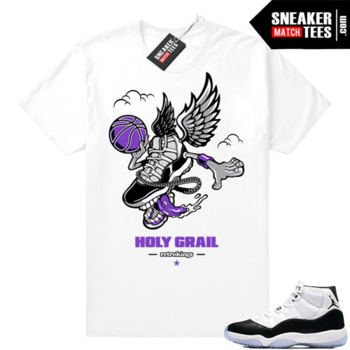 Air jordan 11 Concord Fly Kicks tee