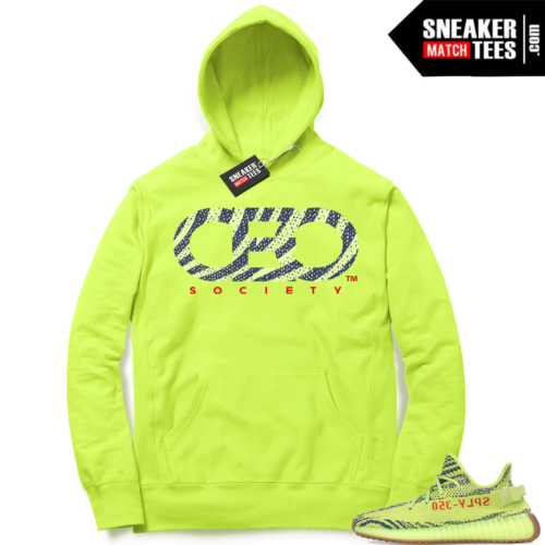 CEO society Frozen Yellow Hoodie