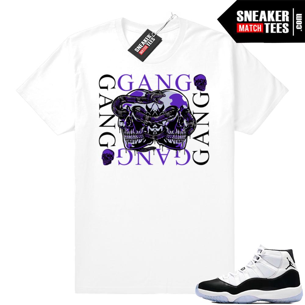 Concord 11 Gang Gang Jordan shirt