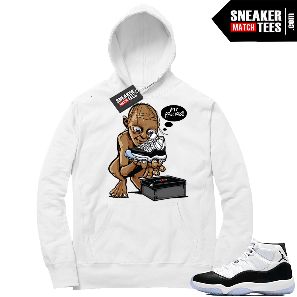 Concord 11 Hoodie match sneakers