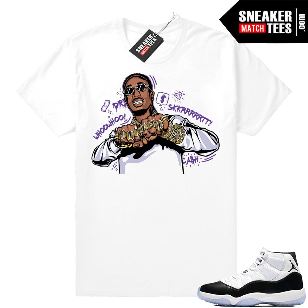 Concord 11 Huncho Drip Jordan shirt
