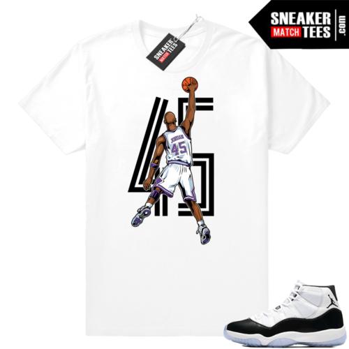 Concord 11 Jordan Shirt match