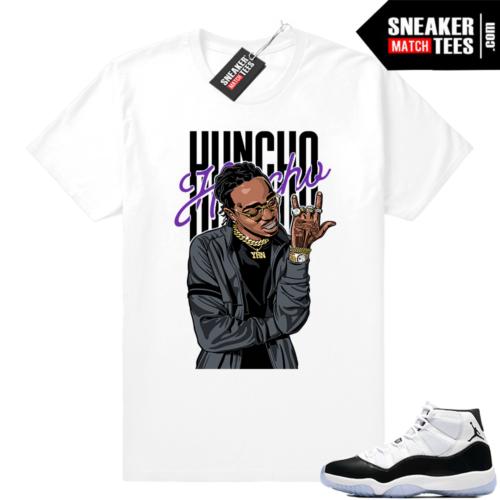 Concord 11 Jordan shirt Huncho Huncho