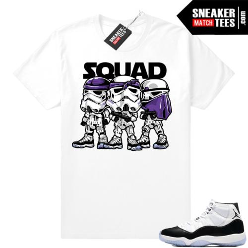 Concord 11 Trooper Squad Jordan shirt
