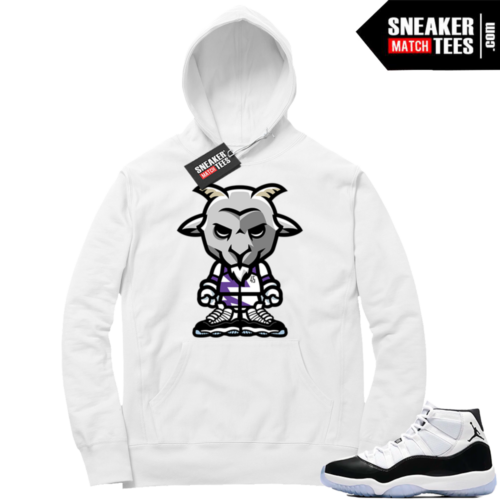 Concord 11 clothing