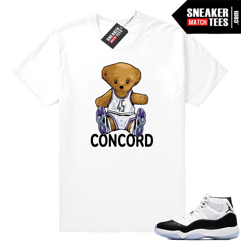 Jordan 11 Concord Bear t-shirt