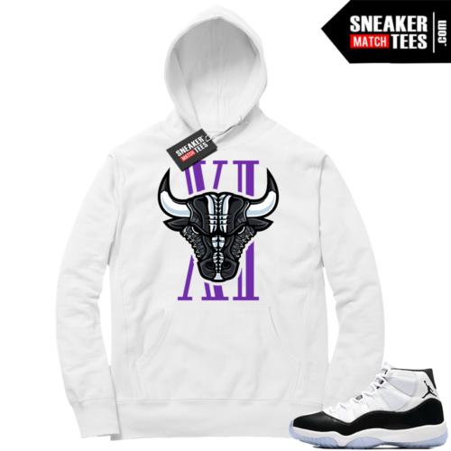 Jordan 11 Concord Hoodie Bull