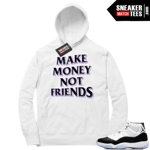 Jordan 11 Concord Make Money Hoodie
