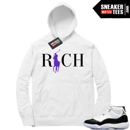 Jordan 11 Concord Rich Hoodie
