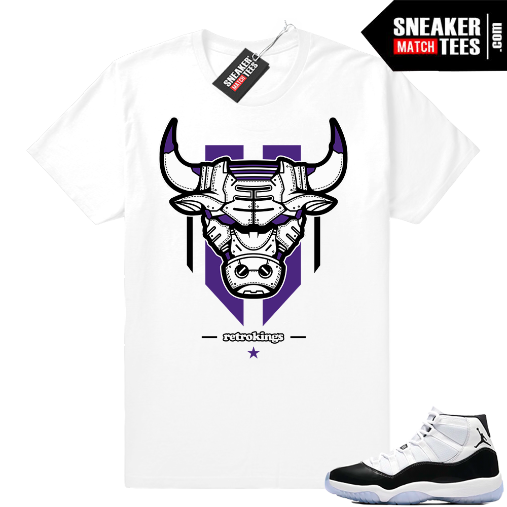 Jordan 11 Concord sneaker tee