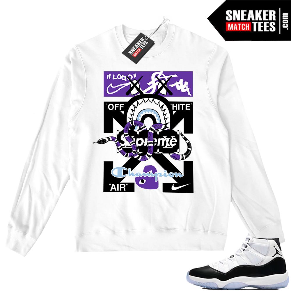 Jordan 11 Crewneck Sweater Designer Mashup