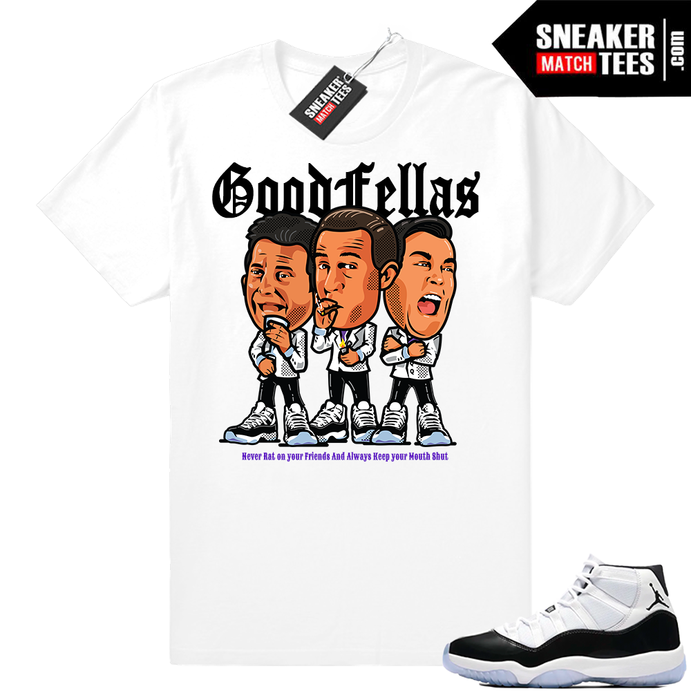 Jordan 11 Goodfellas T-shirt