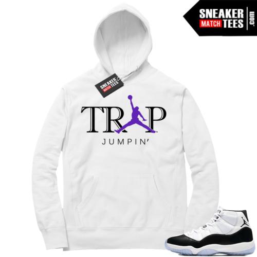 Jordan 11 concord Trap Jumpin Hoodie