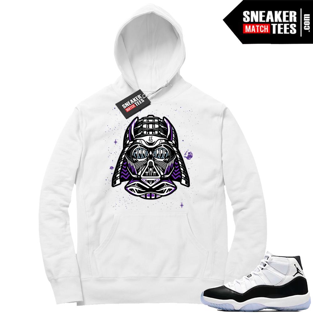 Jordan 11 concord Vader hoodie