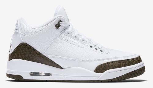 Jordan release dates Mocha 3s