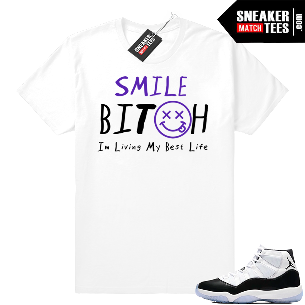 Living my Best Life Concord 11 tee