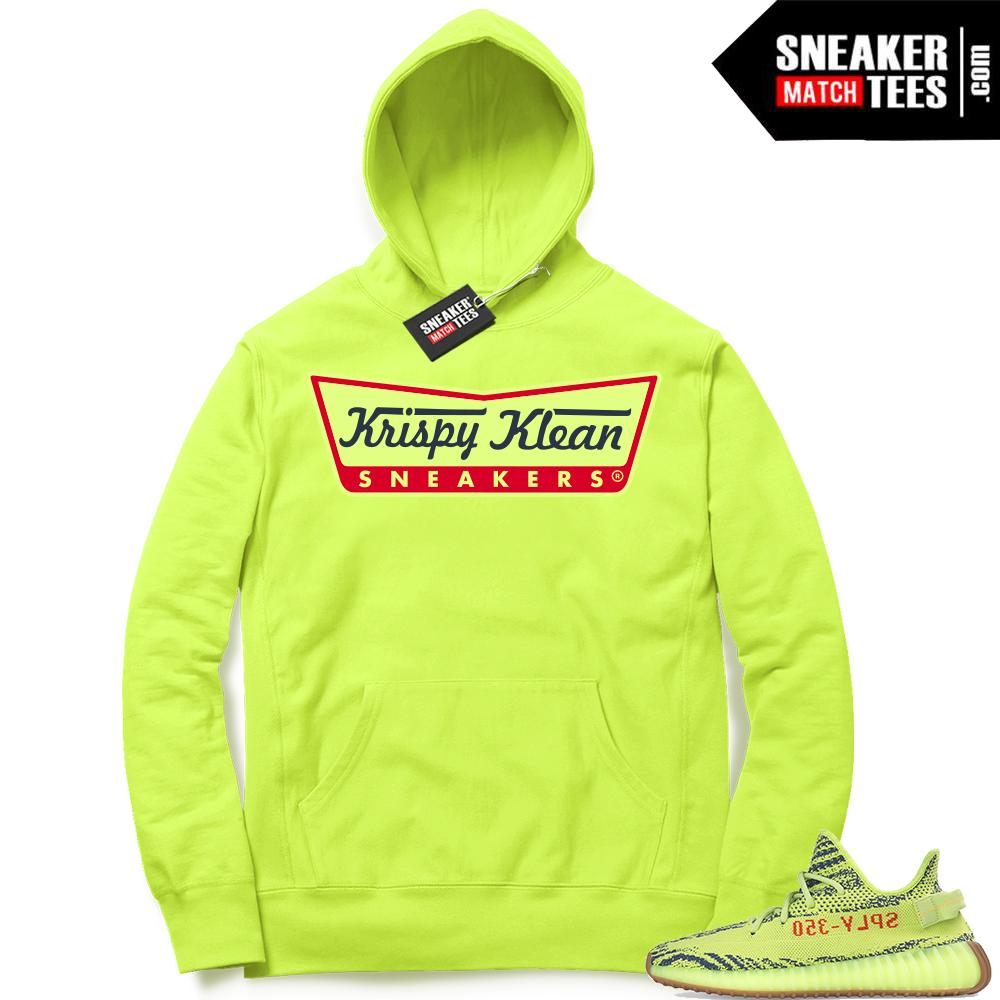 Yeezy Boost 350 Frozen Yellow Hoodies