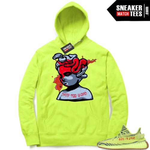 Yeezy Frozen Yellow Sneaker match Hoodies