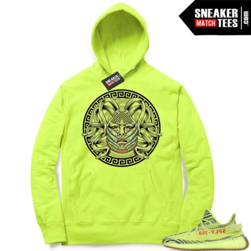 Yeezy Frozen Yellow sneaker match Hoodie