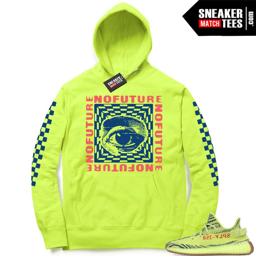 Yeezy boost 350 Frozen Yellow hoodie