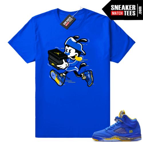 Air Jordan 5 Laney JSP matching shirt