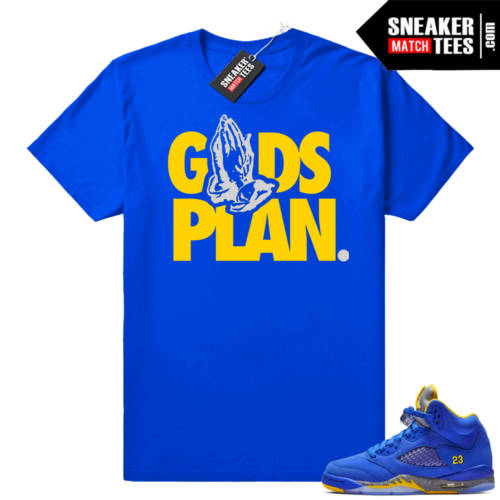 Air Jordan 5 Royal Laney Sneaker shirt