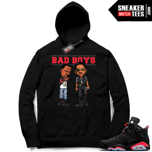 Bad Boys for Life Infrared 6 Hoodie