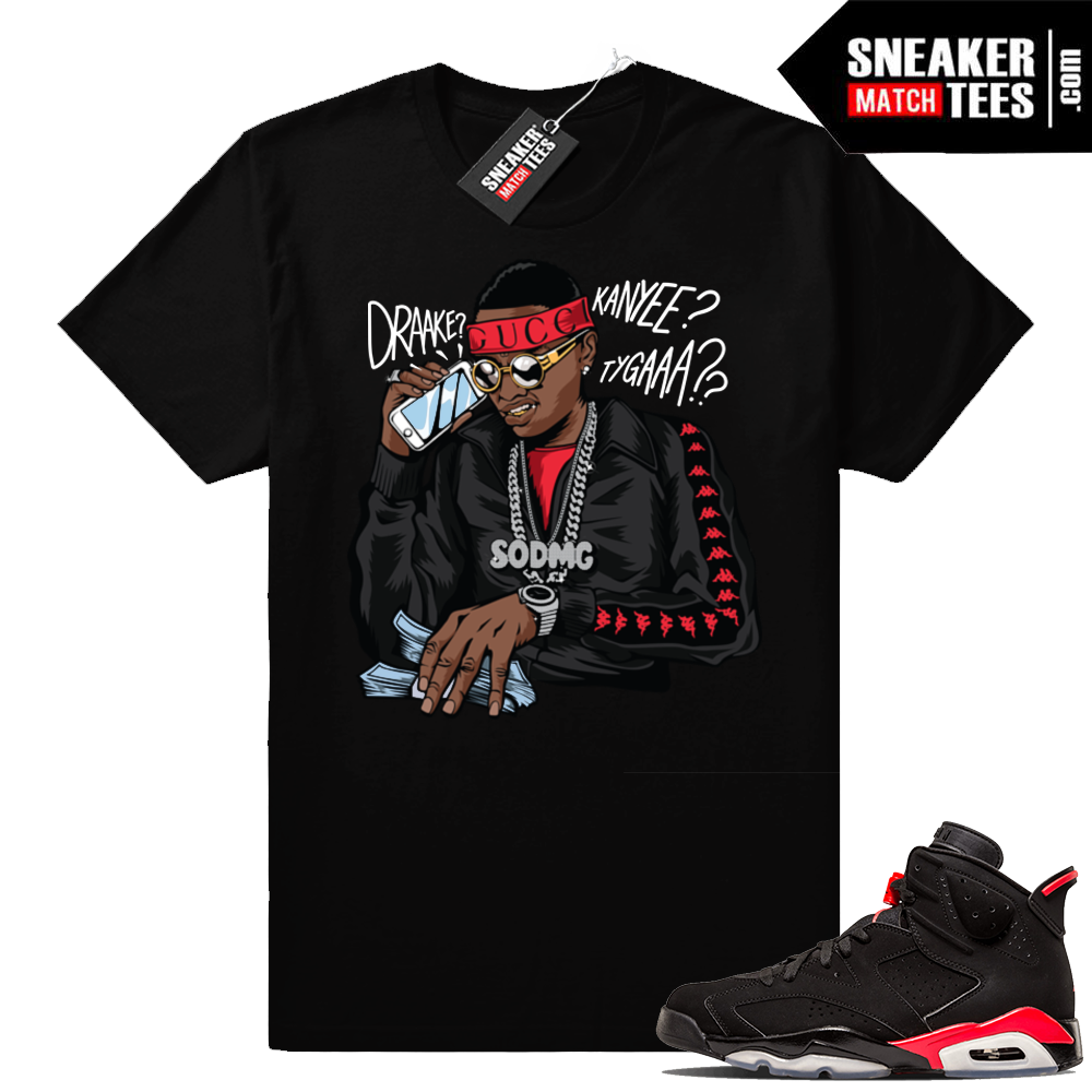 Infrared 6s Soulja Boy Shirt