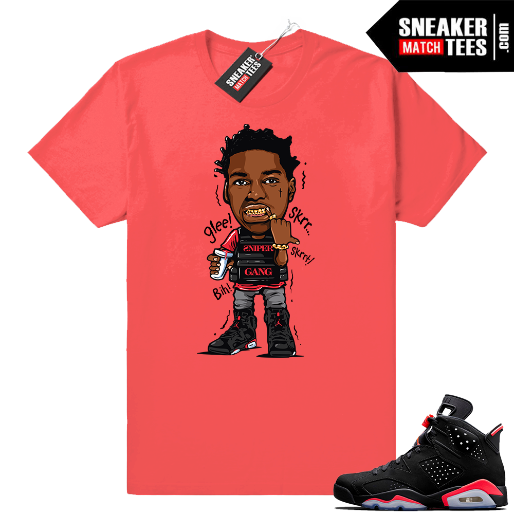 Infrared Air Jordan shirts