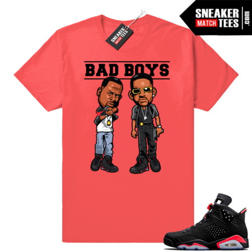 Infrared Jordan 6 shirt