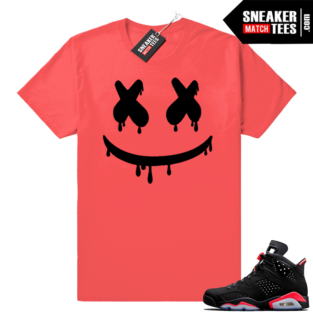 Infrared shirt match Jordan 6