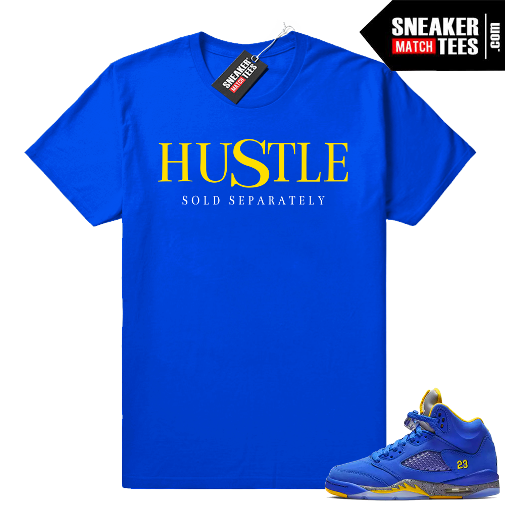 Jordan 5 Laney Hustle T-shirt