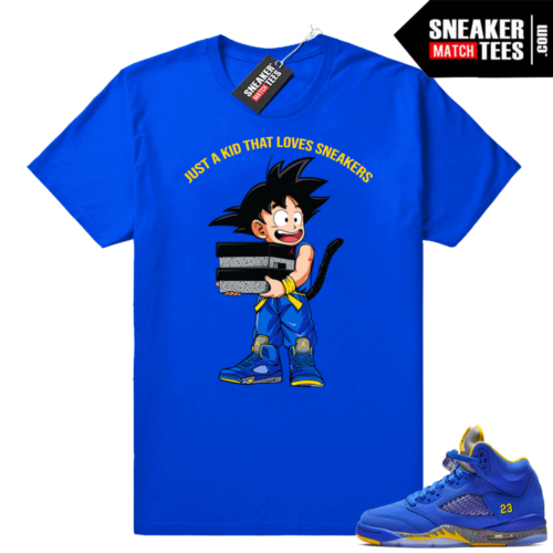 Jordan 5 Laney Just A Kid shirt