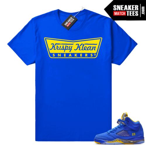 Jordan 5 Laney Krispy Klean Sneakers