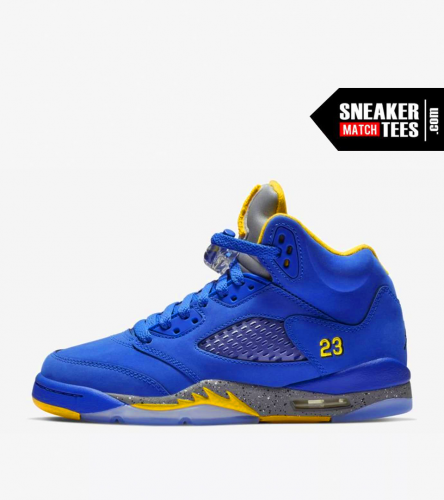 Jordan 5 Laney Royal (2)