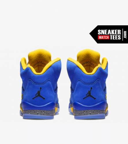 Jordan 5 Laney Royal (4)