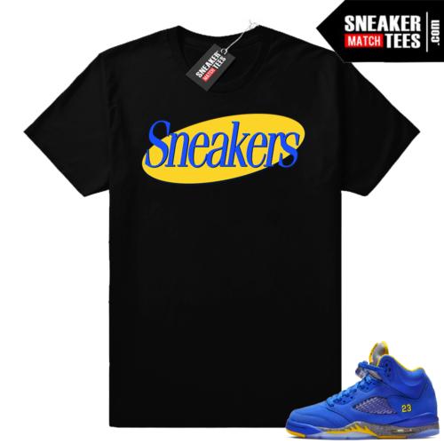 Jordan 5 Laney Sneakers t shirt