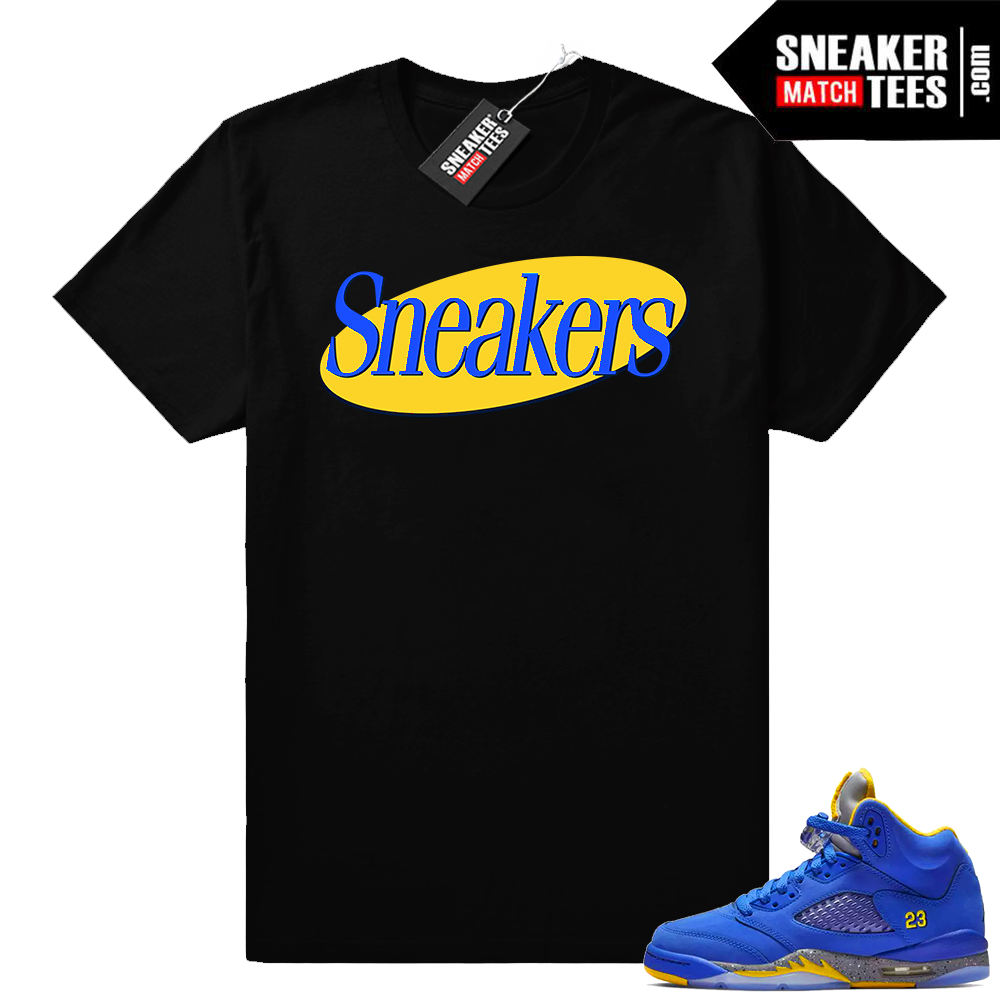 Jordan 5 Laney Sneakers t shirt
