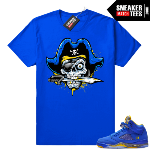 Jordan 5 Laney royal shirts match
