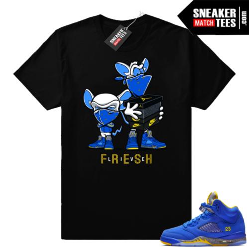 Jordan 5 Laney sneaker shirt