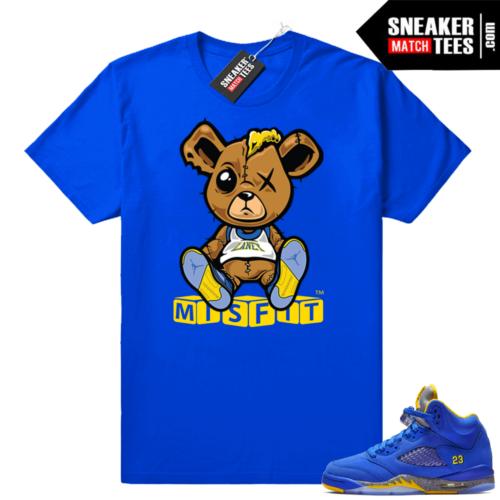 Jordan 5 Laney sneaker tee shirts