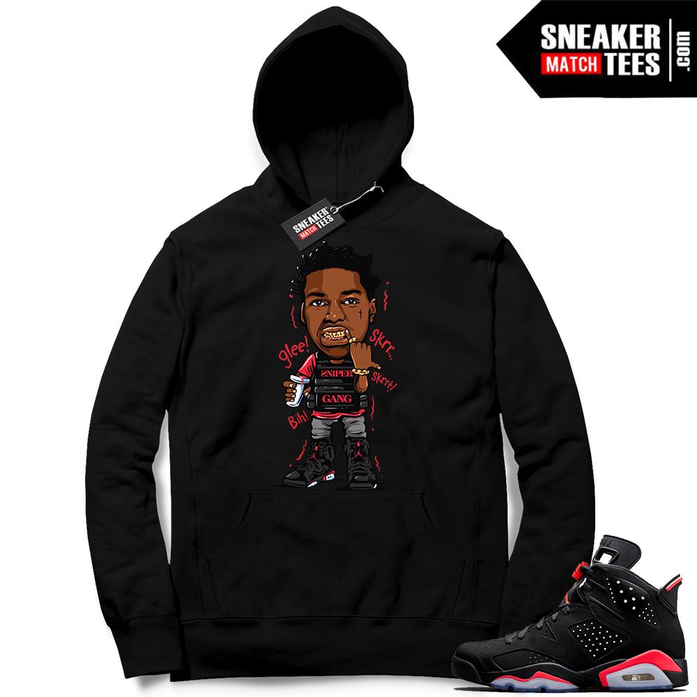 Jordan 6 Black infrared Hoodie | Jordan