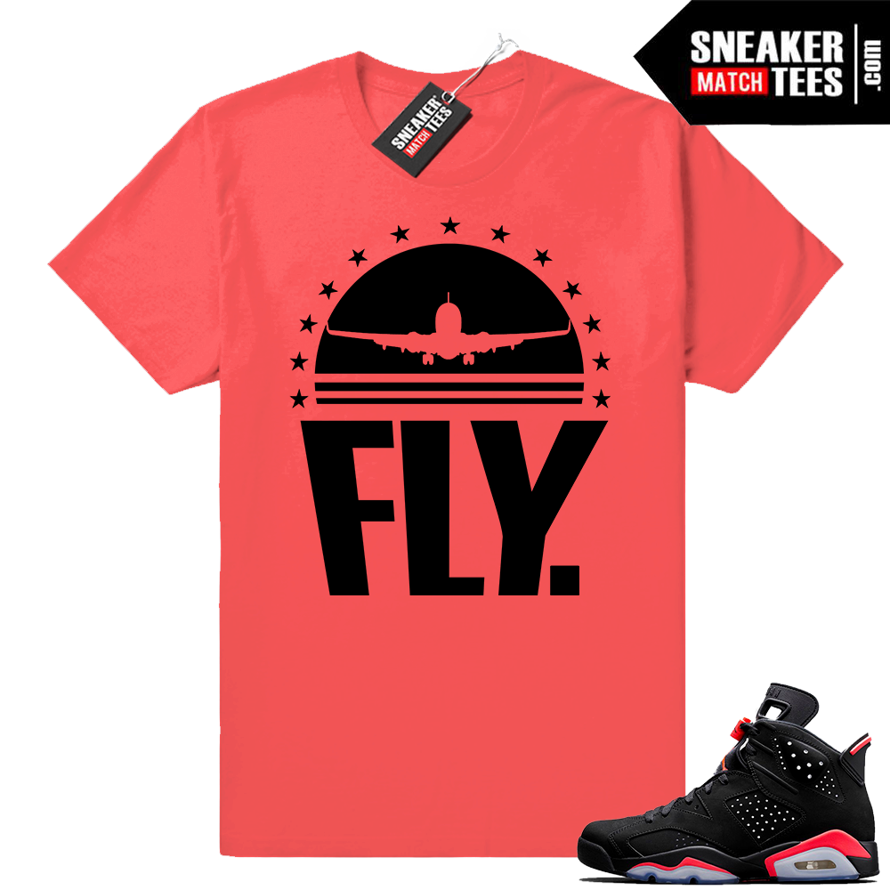 Jordan 6 retro infrared shirts